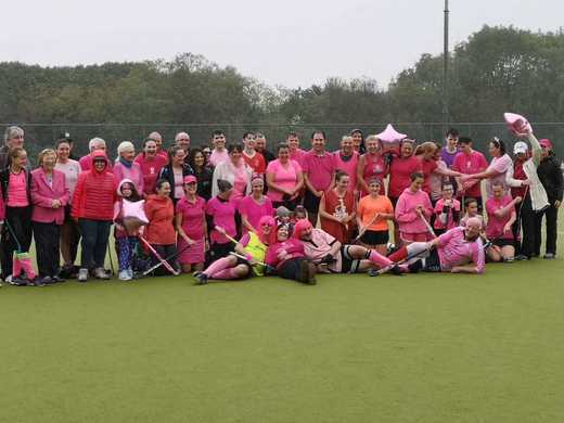 Connacht Hockey In Pink