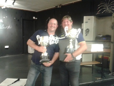 2014 Bobby Bourn Champions - Paul Hodge & George Edger