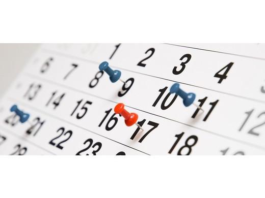 Hier zijn de kalenders!