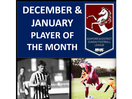 Player of the Month- December & January