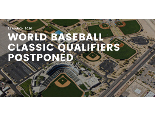 World Baseball Classic Qualifiers Postponed