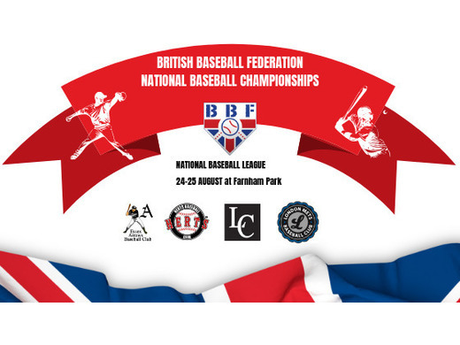 BBF National Baseball League Championship 24-25 Aug 2019