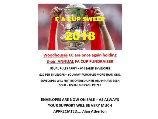 WCC Annual FA Cup Fundraiser