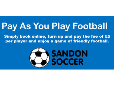 Sandon Soccer Pay as you play