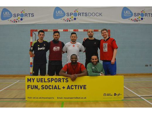 5-a-side Football tournament winners 2016- UEL Staff