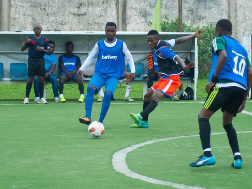 The betway5sleague officially kicked-off on the 1st of September..