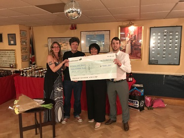 £900 raised for the Rose Gale Trust