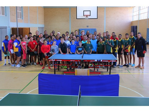 Reese and Dietrich dominate Namibian Youth Table Tennis Championships