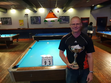 Division 3 Winner Summer 2018, Pete Greasley