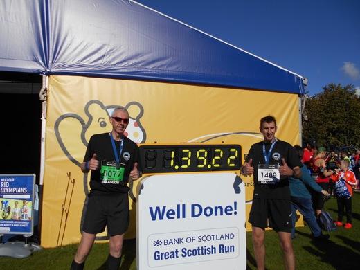 Great Scottish Half Marathon 2016