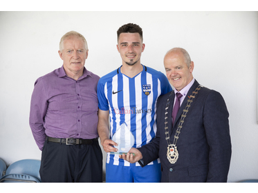 Tonra Cup Final Man Of The Match - Dale Hopkins - Ballina Town B