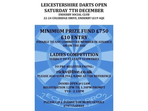 Leicestershire Darts Open