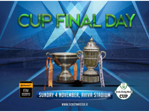 Irish Daily Mail FAI Senior Cup & Continental Tyres FAI Women's Senior Cup Finals