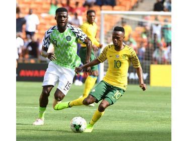 Thulani Serero in action for Bafana Bafana. PHOTO TIMESLIVE