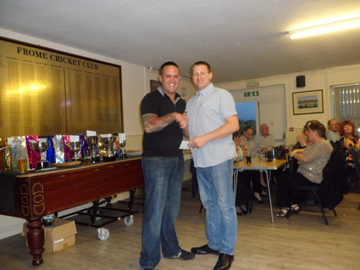 Paul Waddington & Mike Mounty (absent) - doubles runners up