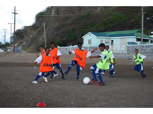 GFA revisits Grassroots Centre in Petite Martinque.