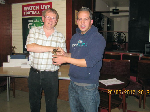 Cornish from Master Robert B collecting Trophy