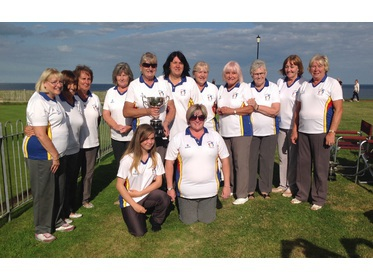 2017 Ladies League Winners - Gorleston Links