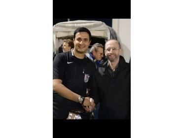 Ken Glancy Trophy - Ref of Year 2018-19 Behnam Sarani