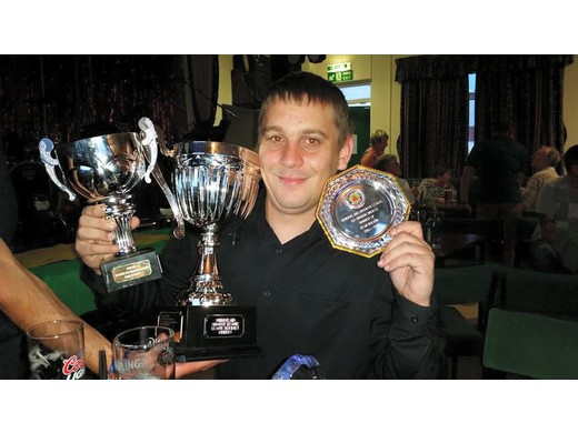 Dean Wilson - 1st Division Champs, Doubles Winner & 1st Div Single RU