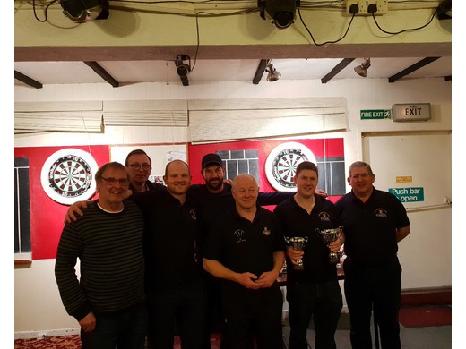 Division 2 WINNERS - Mary Tavy 2017/2018