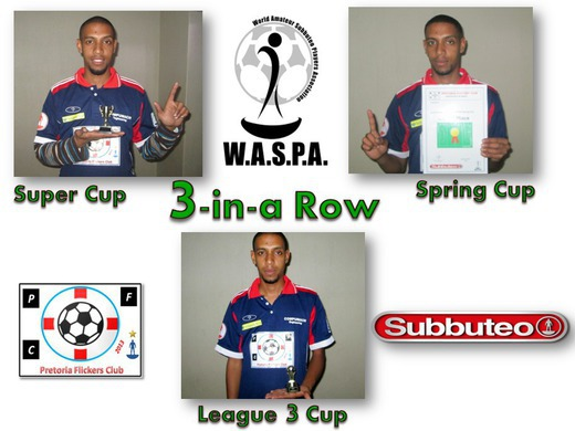 Super Cup, Spring Cup, League 3 : Chessray Jooste