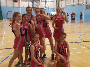 Leeds City Netball team U13 2015–16