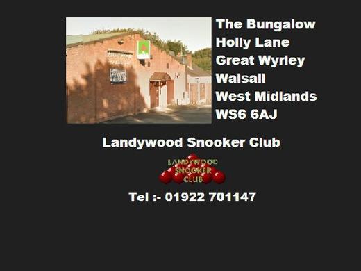 Landywood Snooker Club