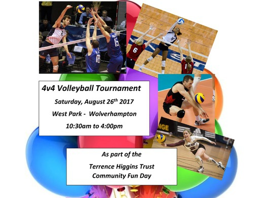 Terrence Higgins Trust Community Fun Day Volleyball Tournament
