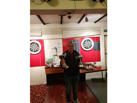 Rob Jane Singles Cup Div 1 Winner 2017/2018 collected by M. Wilson