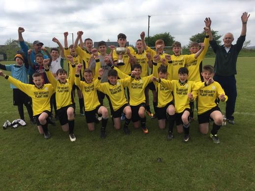 Lyre Rovers U14 - 2018 SuperValu WCSL U14 Cup winners