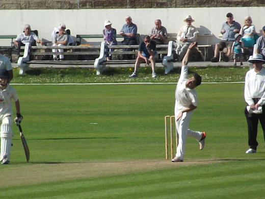 Bilal Abbas struck early with the new ball