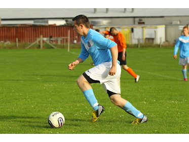 Thrust forward from Stromness Burgh's Alan Ryrie in Lows Thornley Binders cup