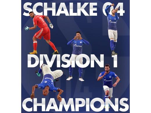 S6 Division 1 Champions!!!!!!!