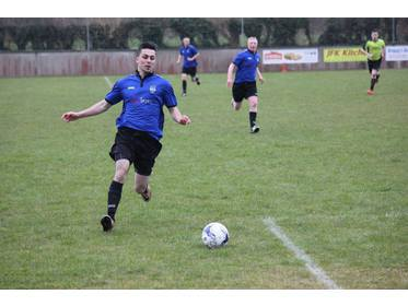 Shane Devers in action for Ballina Town B