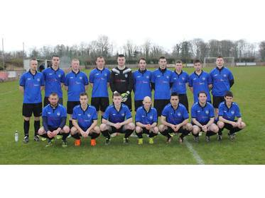Ballina Town B who defeated Conn Rangers B 4-1