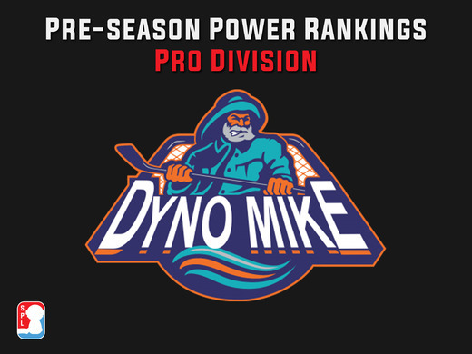 Dyno Mike's SPL Season 2 Pro Division Pre-Season Power Rankings