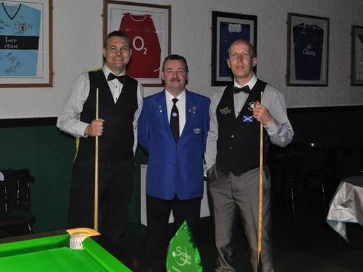 Davy Hutchison with Craig MacGillvary and Robert Miller: Masters Final