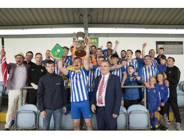 Ballina Town - Westaro Cup Champions 2019