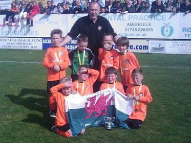 Hearts Milan Under 7`s Sovereign Trophies Cup Winners