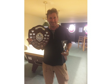 Veterans Singles Winner 2016 Chris Cheshire