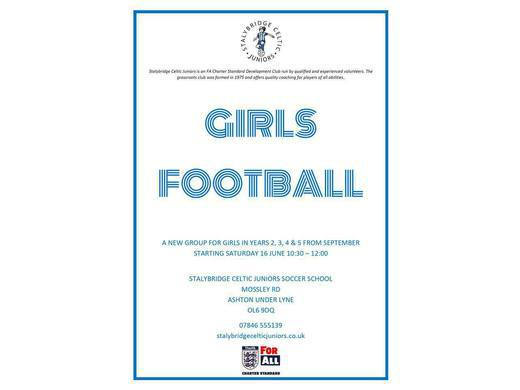 Girls Football Starts this Saturday