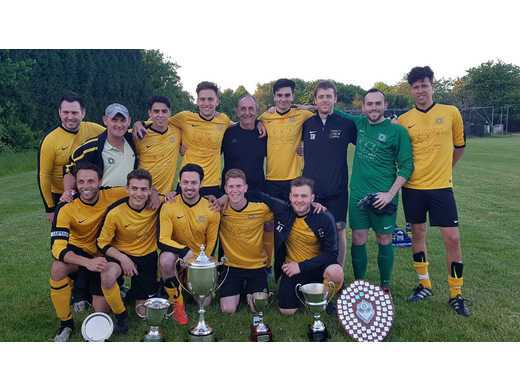 Haroldeans draw but crowned MJSL Champions again plus 3 Annual Awards go to South Manchester Sports
