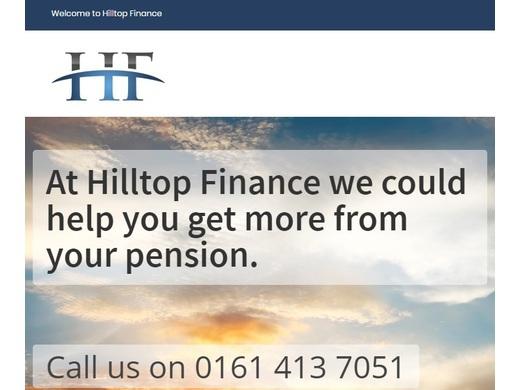 Welcome on Board Hilltop Finance
