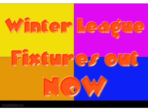 Winter League Fixtures