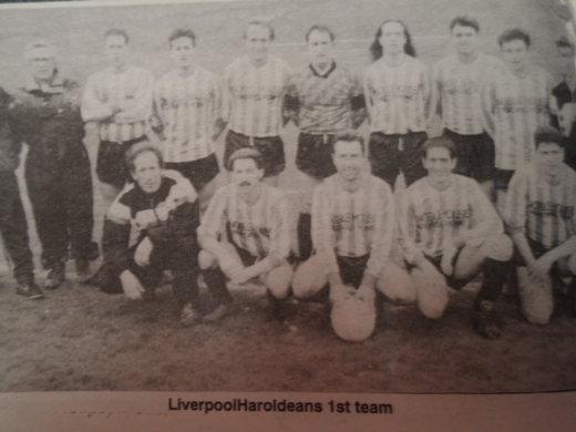 1991-92 Liverpool Haroldeans 1st