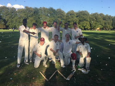 Bloody Lads celebrate victory over Stoke Newington