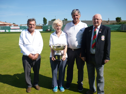 Hickling win the John Vince Memorial Cup for 2018