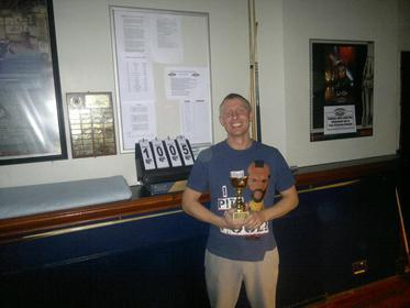 Division 2 winner winter 2012 Carl Gamble
