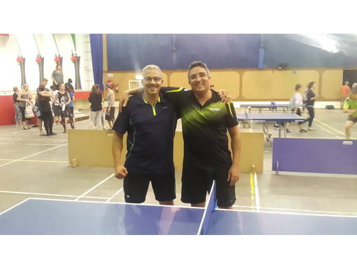 Hansen/Saunderson win Doubles League 2015